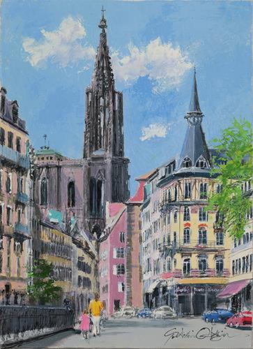 大聖堂のある通り